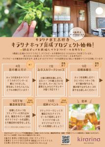 キラリナホップ育成プロジェクト