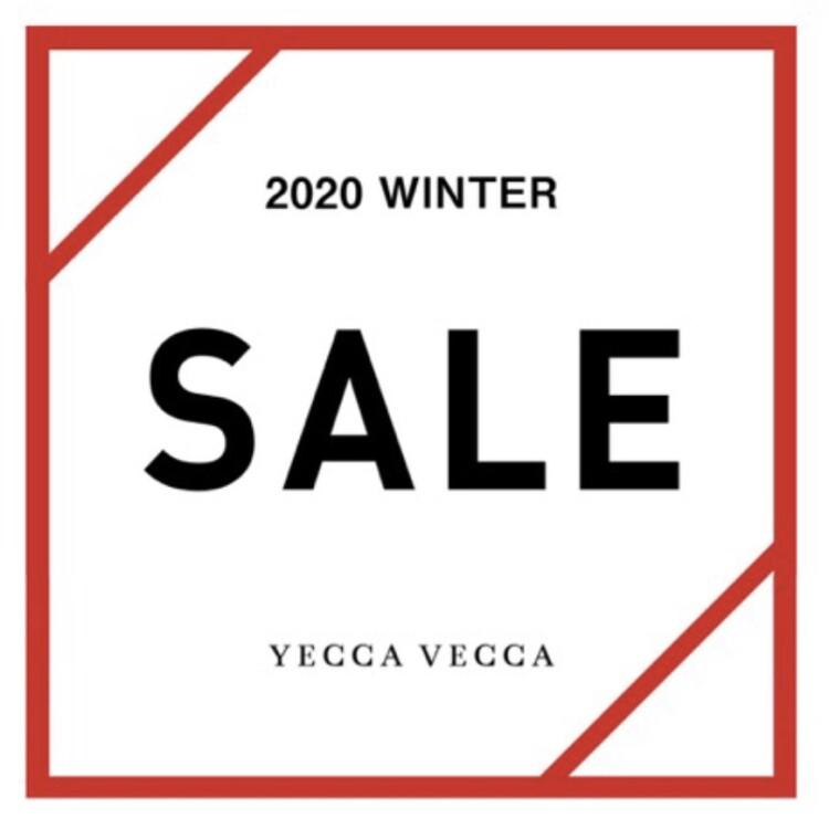 【YECCA VECCA WINTER SALE】