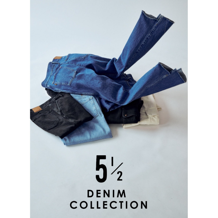5 1/2 (Five and Harf) 再入荷!