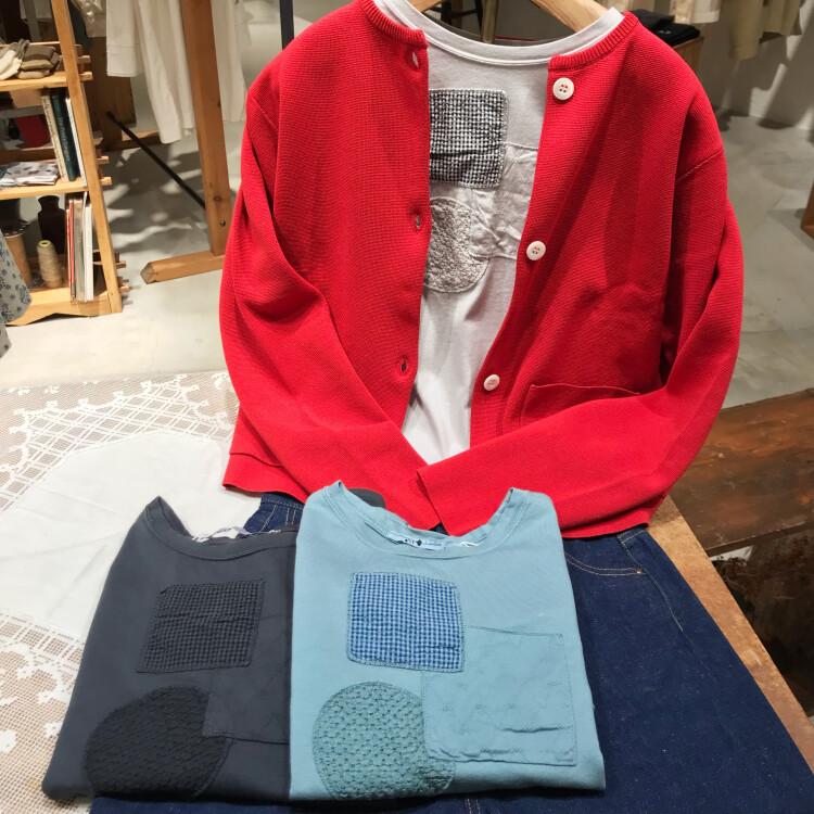 『パッチワークTシャツ』【リラックス】