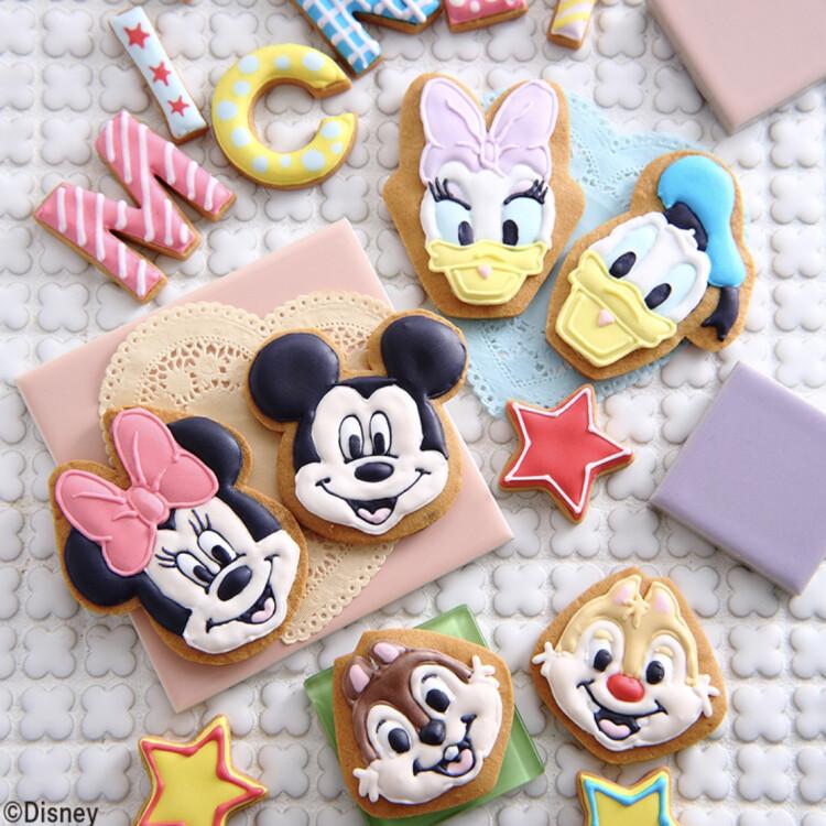 Disney人気キャラクターのスイーツが、おうちで作れる!